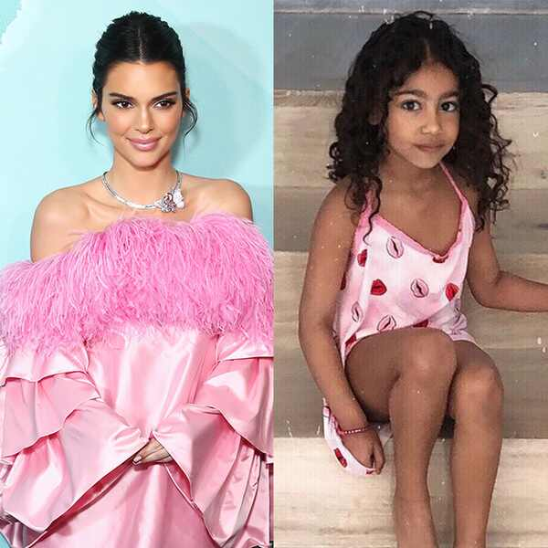 Kendall Jenner, North West